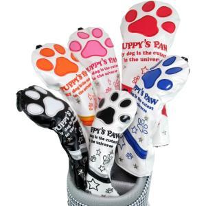 PUPPY'S PAW 仔犬の肉球 NEO CLASSIC ヘッドカバー ユーティリティ用  (ミトン型/クラシックタイプ)|golf-atlas|06