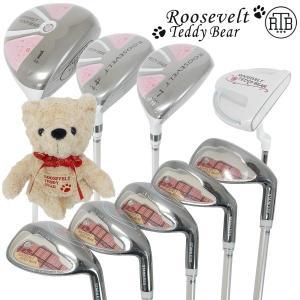 Roosevelt Teddy Bear   ルーズベルト テディベア RTB-TY7100 レディース クラブ9本組セット  golf-atlas