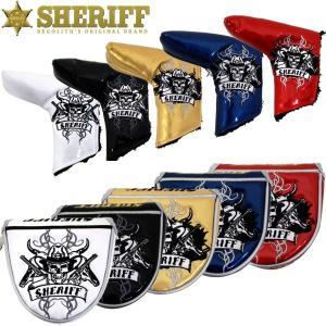 SHERIFF シェリフ スカルシリーズ SFS-002  パターカバー |golf-atlas