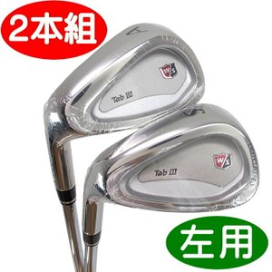 【アウトレット在庫超特価】 左用 Wilson ウィルソンスタッフ TABIII  ウェッジ AW+SW 2本組セット|golf-atlas