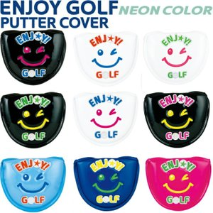 WINWIN STYLE ウィンウィンスタイル ENJOY GOLF エンジョイゴルフ パターカバー NEON COLOR  マレットタイプ |golf-atlas