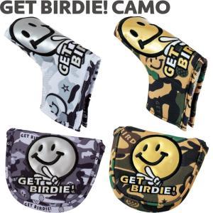 WINWIN STYLE ウィンウィンスタイル GET BIRDIE! CAMO パターカバー ピンタイプ/マレットタイプ  |golf-atlas