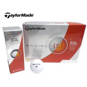 TaylorMade(テーラーメイド) プロジェクト(S) ゴルフボール USモデル ホワイト 1ダ...