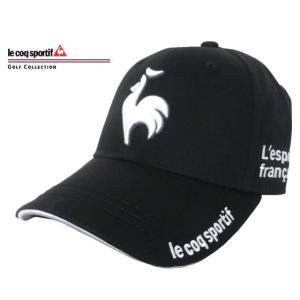 (ルコックスポルティフゴルフ) le coq sportif/GOLF COLLECTION キャップ QG0262 N151ブラック Fの商品画像|ナビ
