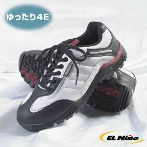 エルニーニョ 4E スパイクレス ゴルフシューズ EL-01|golf-club