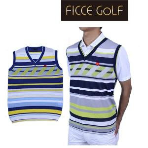 フィッチェゴルフ フィッチェ ゴルフウエア メンズ ベスト ノースリーブ ニット FICCE GOL...