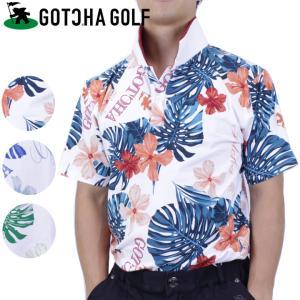 ガッチャゴルフ ガッチャ ゴルフウエア メンズ ポロシャツ 半袖 ゴルフシャツ GOTCHA GOL...
