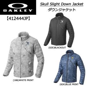 【2017年秋冬モデル。暖かく動きやすい】オークリー OAKLEY メンズ ゴルフ SKULL SLIGHT DOWN JACKET ダウンジャケット 412444JP|golf-season