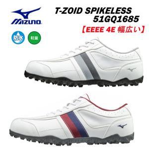 【2019年継続モデル】ミズノ メンズ ゴルフシューズ T-ZOID SPIKELESS スパイクレ...