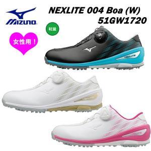 【2019年継続モデル】ミズノ レディース ゴルフシューズ NEXLITE  004 Boa ボア ...
