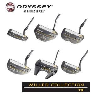ODYSSEY オデッセイ MILLED COLLECTION TX ミルドコレクション TX  パター|golf-season