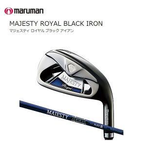 【2016年継続モデル 日本正規品】 Majestey マルマン マジェスティ ロイヤル ブラック 単品アイアン(#5.#6.AW.SW)|golf-season