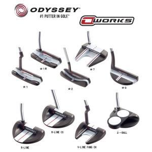【2017年モデル】ODYSSEY オデッセイ O-WORKS PUTTER オー ワークス パター|golf-season