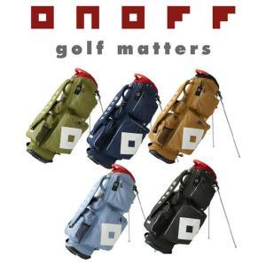 【2017年ニューモデル 良い物をお値打ちにどうぞ!】 ONOFF オノフ ゴルフ スタンド式 キャディバッグ 【OB0317】|golf-season
