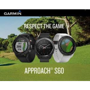 Approach S60 ガーミン アプローチ GPS ゴルフウォッチナビ (腕時計型) 【2019...