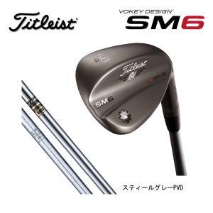 【 2016年モデル】 タイトリスト ボーケイデザイン SM6 ウェッジ  【スティールグレーPVD】 DynamicGold/N.S.PRO 950GHスチールシャフト  (日本正規品)|golf-season