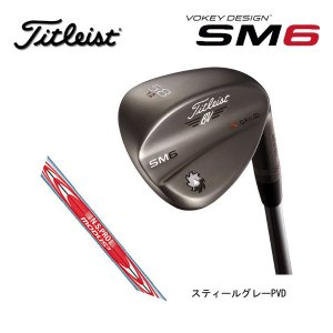 【 2016年モデル】 タイトリスト ボーケイデザイン SM6 ウェッジ  【スティールグレーPVD】 N.S.PRO MODUS3 TOUR 120 スチールシャフト (日本正規品)|golf-season