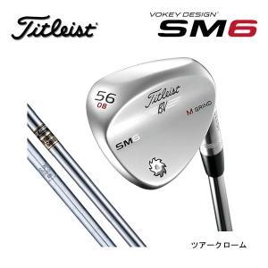 【 2016年モデル】 タイトリスト ボーケイデザイン SM6 スピンミルド6 ウェッジ  【ツアークローム】 DynamicGold/N.S.PRO 950GHスチールシャフト  (日本正規品)|golf-season