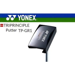 ヨネックス トライプリンシプル パター TP-GR1 スチールシャフト【2020年継続モデル 新品 ...