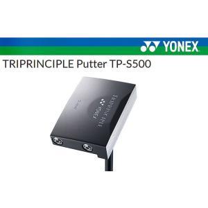 【2017年継続モデル 頼れるパター!】ヨネックス トライプリンシプル パター TP-S500 YONEX TRIPRINCIPLE TRG300 カーボンシャフト|golf-season