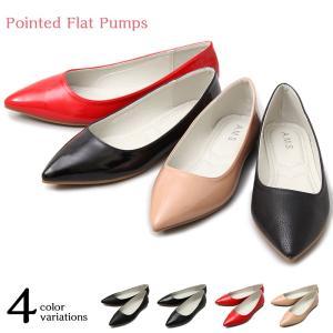 """【商品説明】 """"履きまわしの効くシンプルなポインテッドトゥ"""" 浅履きのデザインとポインテッドトゥが特..."""