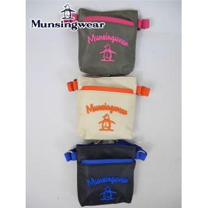 マンシングウェア / ゴルフバッグ・ケース / マンシングウェア Munsingwearナイロンウエストポーチの商品画像|ナビ