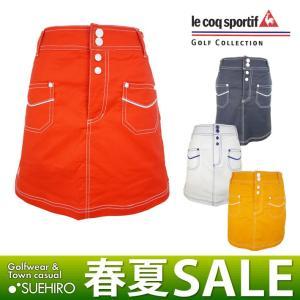 ルコック lecoq ゴルフウェア キュロット付きスカート ...