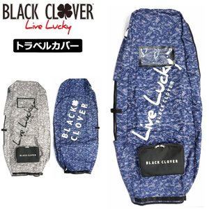 ブラッククローバー トラベルカバー 8.5〜9型対応 カモ柄 BC5HGZ21  20SS Black Clover LIVE LUCKY トラベルケース キャディバッグカバー JAN3|golf-thirdwave