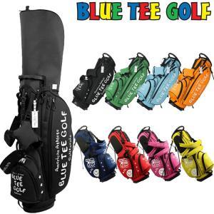 ブルーティーゴルフ 9型 ストレッチ スタンドバッグ BTG-CB-003 Blue Tee Golf California スタンド式 スタンド型 キャディバッグ ゴルフ用バッグ|golf-thirdwave