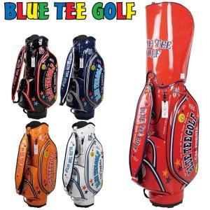 ブルーティーゴルフ 9型 エナメル キャディバッグ BTG-CB-005 Blue Tee Golf California ゴルフ用バッグ メンズ レディース ブルーティ|golf-thirdwave