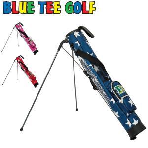 ブルーティーゴルフ STAR ナイロン セルフスタンドキャリーバッグ BTG-CC002 Blue Tee Golf California ゴルフバッグ スタンド式 キャリーバッグ JUL1|golf-thirdwave