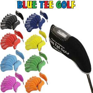 [クーポン有][人気商品]BLUE TEE GOLF(ブルーティーゴルフ) 2016 ヘッドカバー アイアン用 単色8個セット[新品]