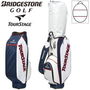 ブリヂストン ツアーステージ 9型 キャディバッグ CB20CO TOURSTAGE トリコロール Bridgestone メンズ ゴルフバッグ カートバッグ 男性用|golf-thirdwave