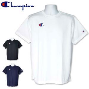 メール便発送OK Champion チャンピオン メンズ ワンポイントロゴ 半袖 Tシャツ C3-PS390 18SS メンズファッション メンズウェア %off|golf-thirdwave