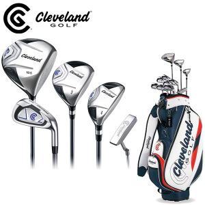 数量限定特価 クリーブランド メンズ ゴルフセット 11本 キャディバッグ付 PACKAGE SET 日本仕様 Cleveland パッケージセット フルセット クラブセット|golf-thirdwave