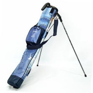 エドウィン ゴルフ セルフスタンドキャリーバッグ [BLU]ブルー EDWIN-344RB EDWIN GOLF  20SS ゴルフ用バッグ クラブケース JAN1|golf-thirdwave