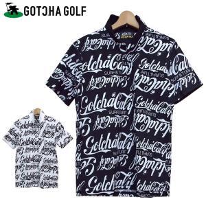 オールドアメリカンな雰囲気漂うGOTCHA GOLFオリジナル総柄のポロシャツ。 吸水速乾機能の付い...