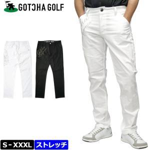 ガッチャゴルフ 2021 メンズ ストレッチ ロングパンツ 千鳥 ジャカード 212GG1800 GOTCHA GOLF 春夏秋  21SS ゴルフウェア APR3 golf-thirdwave