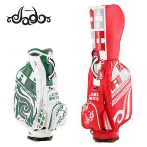 JADO GOLF キャディバッグ 9.5型 3点式 Chain Block Tribalシリーズ JGCB9992-02 20FW 邪道ゴルフ ゴルフバッグ カートバッグ|golf-thirdwave