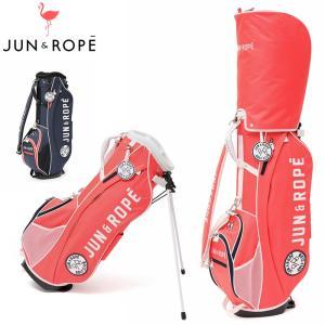 JUN&ROPE 9型 軽量 スタンドバッグ ERX30100  21SS ジュンアンドロペ ジュンロペ ゴルフ用バッグ スタンド式 キャディバッグ JUL3|golf-thirdwave