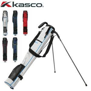 KASCO キャスコ セルフスタンドキャリーバッグ KST-030RB ラウンドバッグ  21SS ゴルフ用バッグ クラブケース JUL3|golf-thirdwave