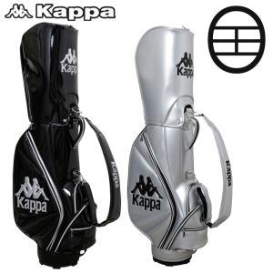 カッパゴルフ 9.5型 キャディバッグ KGA18BA01 Kappa Golf 20SS ゴルフバッグ ゴルフ用バッグ|golf-thirdwave