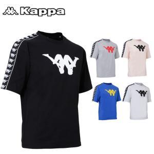 メール便発送 カッパ Up&Down 半袖 Tシャツ BANDA KLA12TS03 消臭・抑制 Kappa 春夏 20SS ファッション TEE|golf-thirdwave