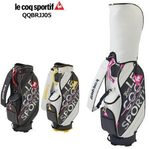 ルコック ゴルフ 2021 9.5型 キャディバッグ QQBRJJ05 21SS スポルティフ Lecoq golf sportif メンズ ゴルフ用バッグ カートバッグ|golf-thirdwave