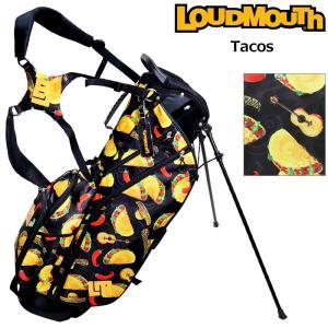 日本規格 ラウドマウス 2021 8.5型 軽量 スタンドバッグ Tacos タコス LM-CB0010 761981(285)  21SS ゴルフ Loudmouth キャディバッグ 派手 ゴルフ用品 JUN1|golf-thirdwave