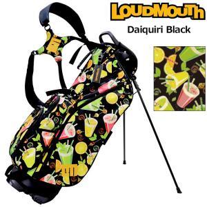 日本規格 ラウドマウス 2021 8.5型 軽量 スタンドバッグ ダイキリ ブラック LM-CB0010 771984(303)  21FW ゴルフ Loudmouth キャディバッグ 派手 用品 SEP2|golf-thirdwave