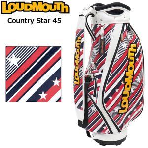 日本規格 ラウドマウス 2021 9.5型 キャディバッグ カントリースター45 LM-CB0014/771998(301)  21FW Loudmouth Bag ゴルフ用バッグ 派手な ゴルフ用品 SEP3|golf-thirdwave