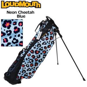 日本規格 ラウドマウス 2021 6.5型 超軽量 スタンドバッグ LM-CB0017 771983(302) ネオンチーターブルー  21FW Loudmouth キャディバッグ 派手 ゴルフ用品 SEP3|golf-thirdwave
