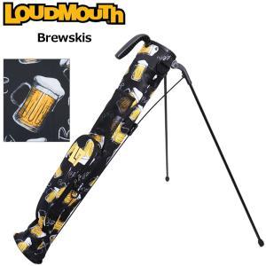 日本規格 ラウドマウス 2021 セルフスタンドキャリーバッグ Brewskis ブリュースキー LM-CC0004/761980(237)  21SS Loudmouth Self Stand Bag 派手 な 柄 JUN1|golf-thirdwave
