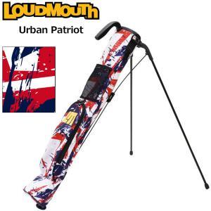 日本規格 ラウドマウス 2021 セルフスタンドキャリーバッグ アーバンパトリオット LM-CC0004/771982(298)  21FW Loudmouth Self Stand Bag 派手 な 柄 SEP3|golf-thirdwave